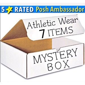 5⭐️ RATED- 7 ITEM ATHLEISURE ATHLETIC MYSTERY BOX